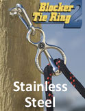 Blocker Tie Ring 2 with Mag-Loc – Stainless Steel
